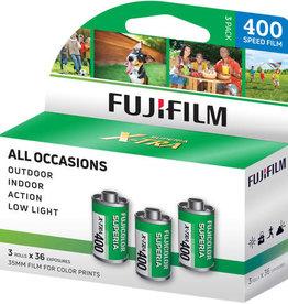 Fujifilm Fuji 400 X-Tra 3x36exp