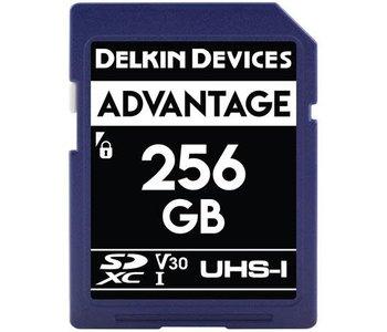 Delkin Devices Advantage 256GB UHS-I Class 10 U3 V30 SDXC 633x Memory Card