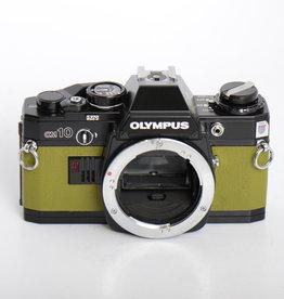 Olympus Olympus OM-10 BLACK/OLIVE GREEN SN: 1586956