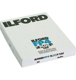 Ilford Ilford FP4 Plus 125 ASA 4x5 25 sheet Film