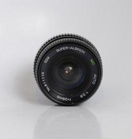 Super-Albinon 28mm f/2.8 PK