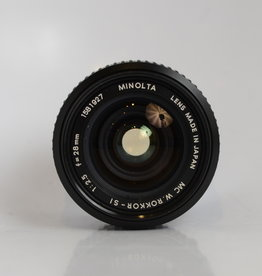 Minolta Minolta 28mm f/2.5 MC W.Rokkor-SI RARE (slight yellowing)