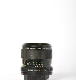 Canon Canon 50mm F/3.5 Macro FD