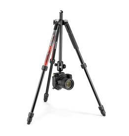 Manfrotto Manfrotto Element MII Red Tripod - 4 section with Ball Head