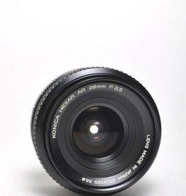 Konica Konica 28mm f/3.5 SN: 4736320