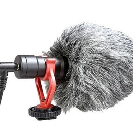 VidPro Professional Compact Micro On-Camera Microphone with Integrated Shock Mount