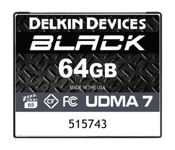64GB CF Delkin Black