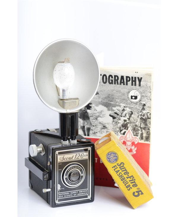 Scout 120 Flash Camera W/BSA Photo Book