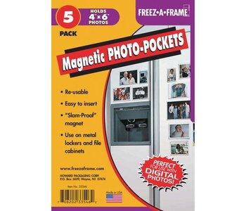 Freeze-A-Frame flex Magnet 4x6 5 Pack