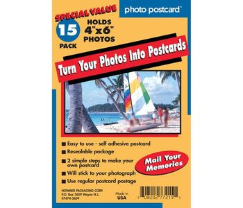 Freeze-A-Frame Post card 15 Pack