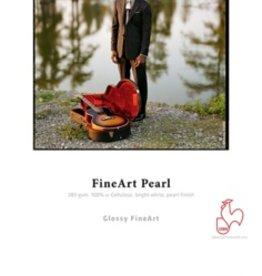 "Hahnemuhle Hahnemuhle Fine Art Pearl, Fiber Based, Bright White Inkjet Paper, 285gsm, 8.5x11"", 25 Sheets"