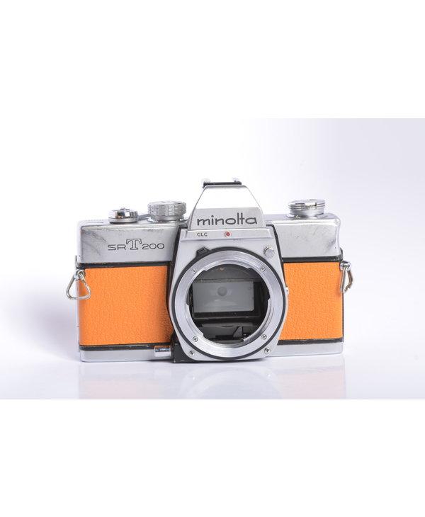 Minolta SRT 200 - Atomic Tangerine