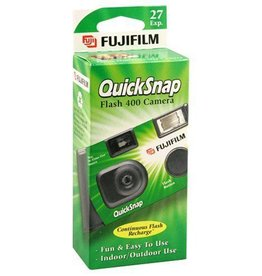 Fujifilm Fujifilm Quicksnap Flash 400 Disposable 35mm Single Use Film Camera *