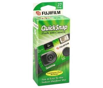 Fujifilm Quicksnap Flash 400 Disposable 35mm Single Use Film Camera *