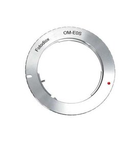 Olympus OM to Canon EF lens adapter