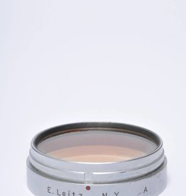 Leica Leitz Xoopt Gelb Leica A (Orange) 39mm Lens Filter