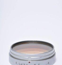 Leica Leitz Xoopt Gelb Leica A (Orange) 39mm Lens Filter