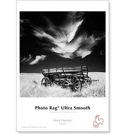"Hahnemuhle Hahnemuhle Photo Rag, 100 % Rag, Ultra Smooth, White Matte Inkjet Paper, 305 gsm, 8.5x11"", 25 Sheets"