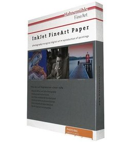 "Hahnemuhle Hahnemuhle Matte Photo Rag, 100 % Rag Smooth White Inkjet Paper, 19 mil., 308 g/mA, 8.5x11"", 25 Sheets"