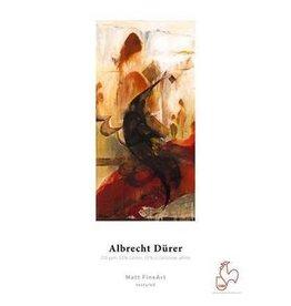 "Hahnemuhle Hahnemuhle Albrecht Durer, 50% Rag, Textured Matte Surface, Natural White Inkjet Paper, 210 gsm, 13x19"" 25 Sheets"