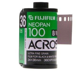 Fuji Neopan Acros 100 ASA 35mm Black and White Film *