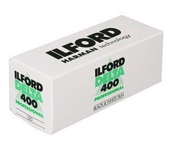Ilford Delta 400 ASA 120 B&W Negative Film *