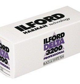 Ilford Ilford Delta 3200 ASA 120 B&W Film *