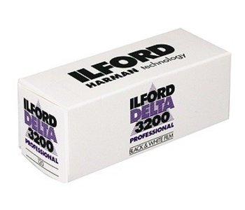 Ilford Delta 3200 ASA 120 B&W Film *