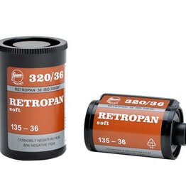 Foma Foma Retropan 320 Soft 35mm 36exp B&W Negative Film *