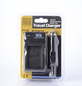 Premium Tech Charger for sony NP-FW50