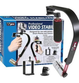 VidPro Stabilizer SB-8 includes 3 weights and Phone adapter