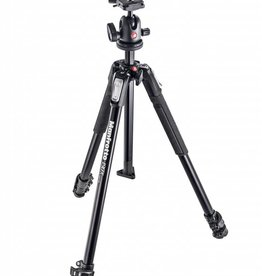 Manfrotto Manfrotto MK190X3-BH Aluminum Tripod with 496RC2 Compact Ball Head