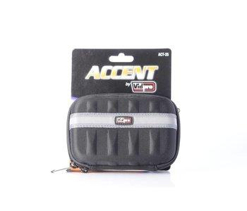 "Vidpro Accent Compact Camera Case in Black 5""L x 2""W x 3""H (Fits Canon G Series etc.)"
