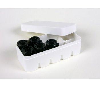 JCH 35mm Film Hard Case White - Holds 10 Rolls of Film