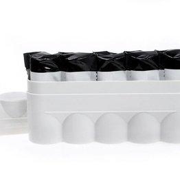 Japan Camera Hunter JCH 120 Film Hard Case White - Holds 5 Rolls of 120 Size Film *