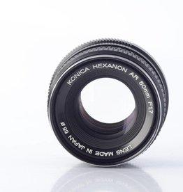 Konica Konica AR Hexanon 50mm f1.7 AE *
