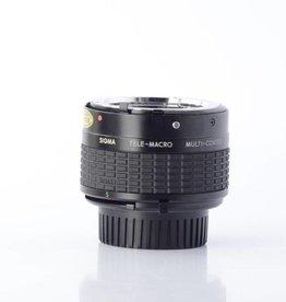 Sigma Sigma TELE-MACRO CONVERTER 2X-1:1 for Minolta SN: 1000865