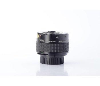 Sigma TELE-MACRO CONVERTER 2X-1:1 for Minolta SN: 1000865
