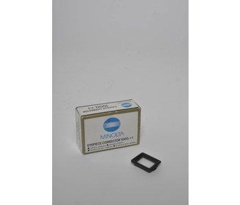Minolta Eyepiece Corrector 1000, +1