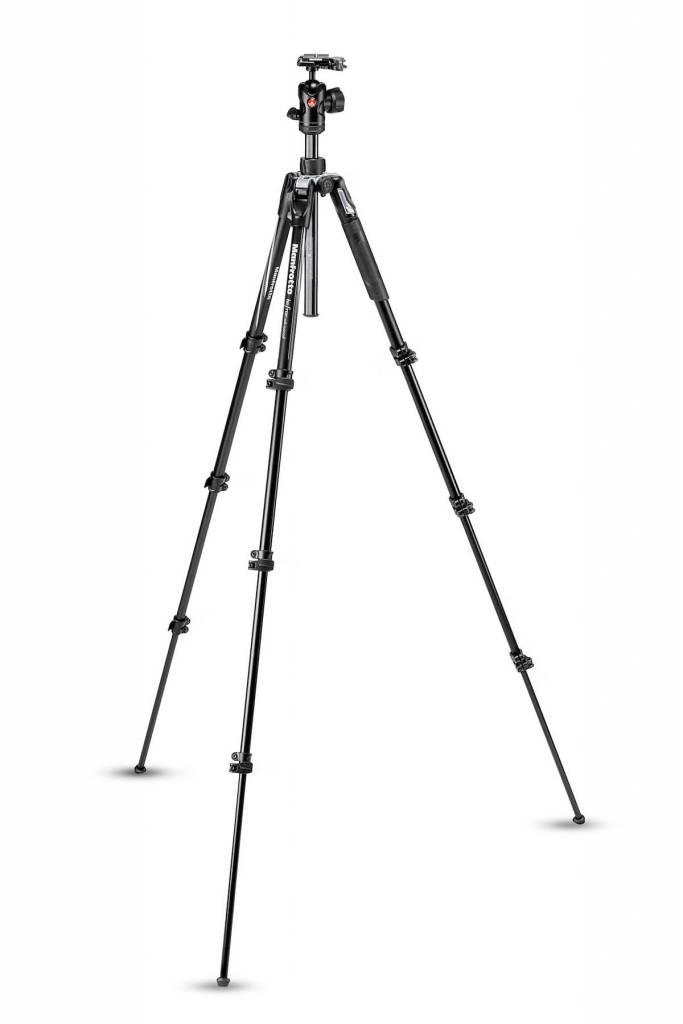 Manfrotto Manfrotto Befree Advanced Aluminum Travel Tripod lever BLACK, ball head