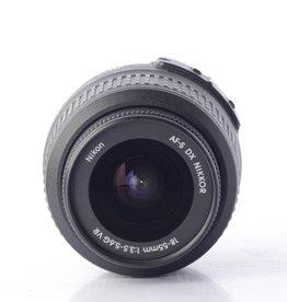 Nikon Nikon 18-55mm f/3.5-5.6 VR G AF DX Lens Nikkor SN: 19346003 *