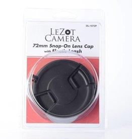 DLC 72mm snap cap w/Leash *