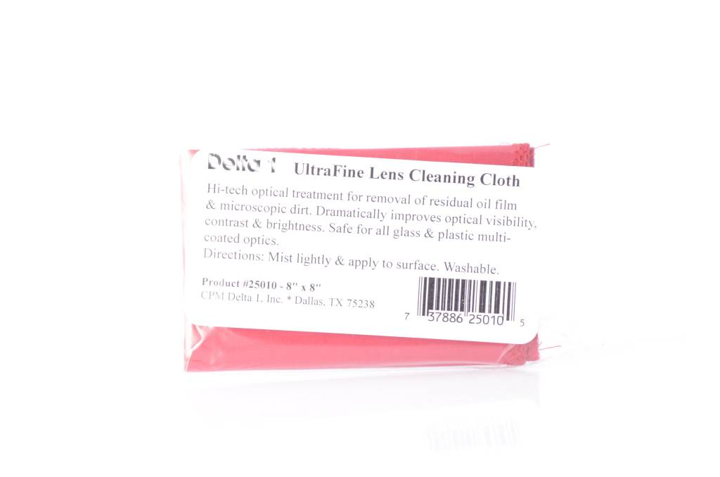 Delta 1 Delta 1  Lens Clear 8x8 Lens Cleaning Cloth