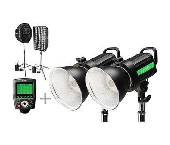 Phottix Indra500 TTL GameChanger 2-Light Kit for Nikon