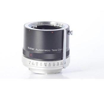 Vivitar 3X tele converter for MD mount camera and lens