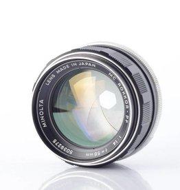 Minolta Minolta MC Rokkor-PF 58mm f/1.4 *