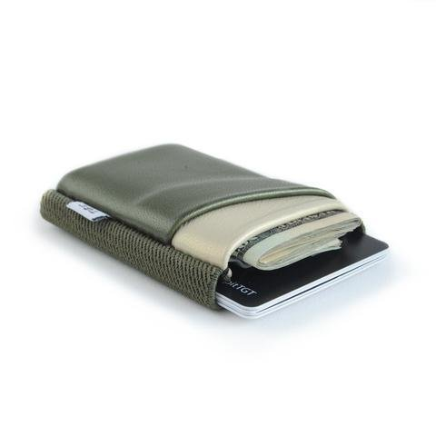 TGT Army and Cream Deluxe Wallet
