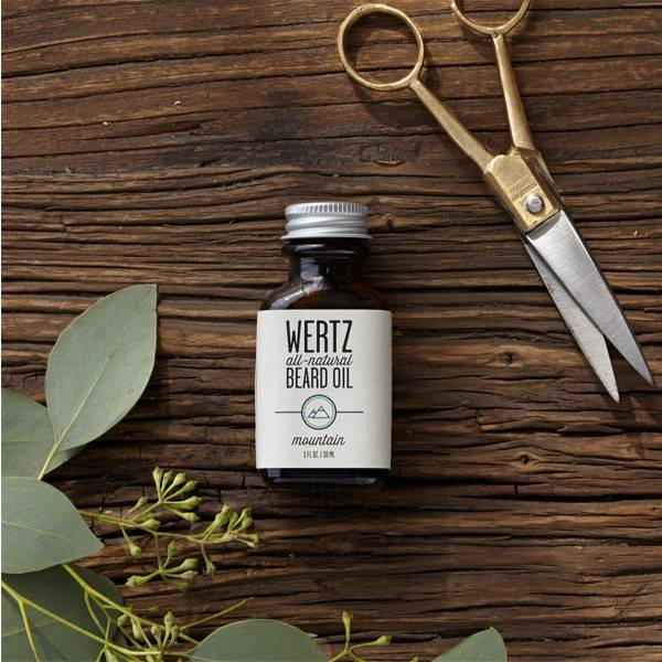 wertz natural Wertz Natural Mountain Beard Oil