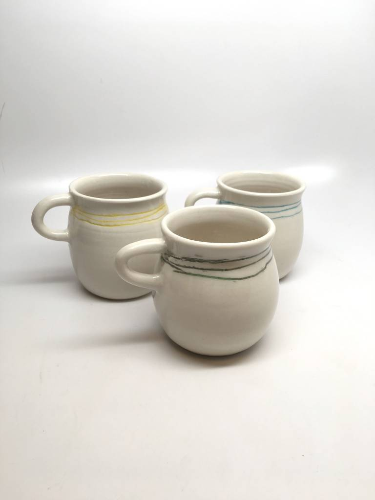 AK orb AK Ceramic Coffee Cup