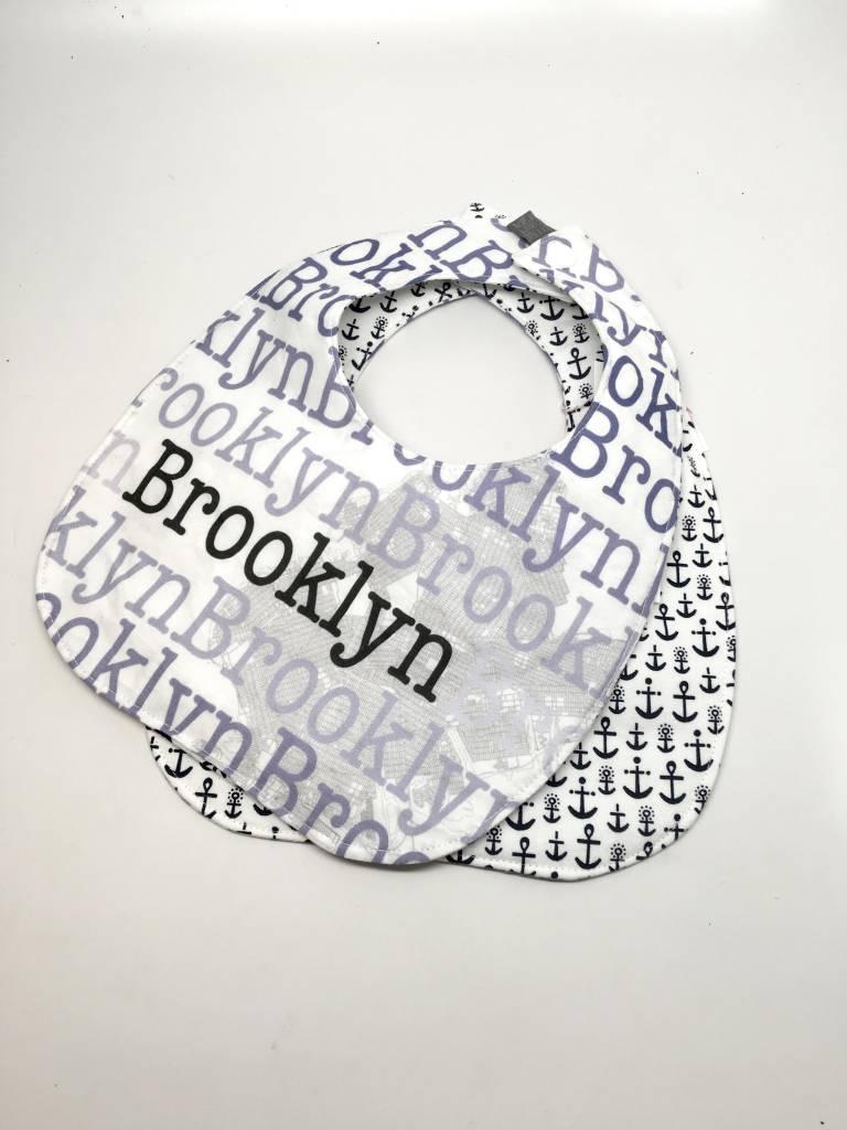 Little Colley Designs Anchor Brooklyn Bib
